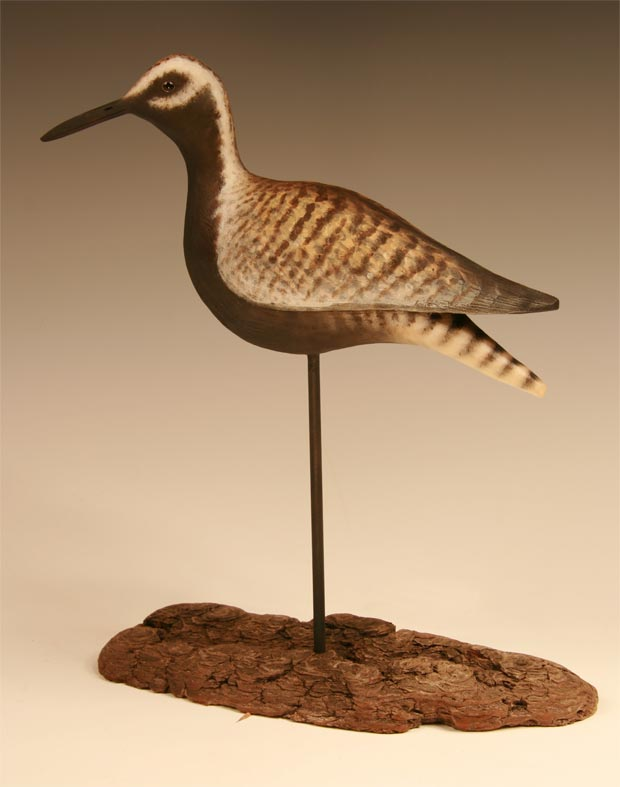 Antique style Golden Plover